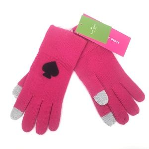 NEW Kate Spade OS Begonia Bloom Gloves Mitten